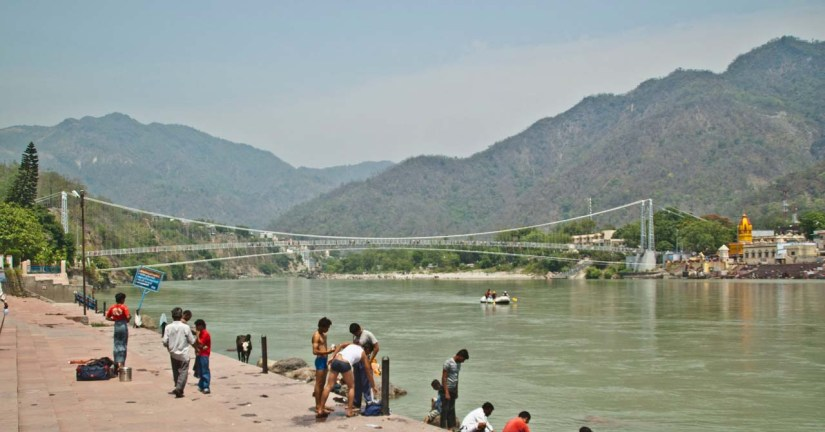 Rishikesh Ghat on Ganga River