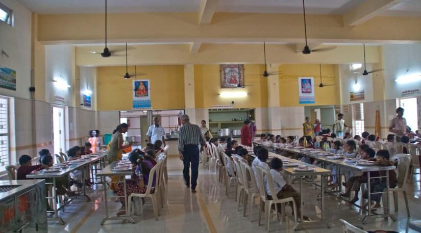Ambe Maa Temple canteen