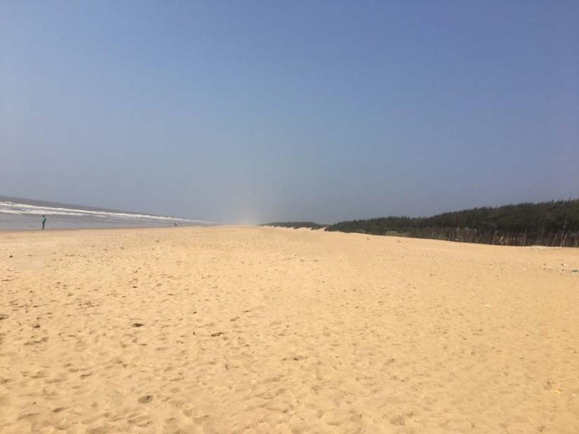Konark beach India