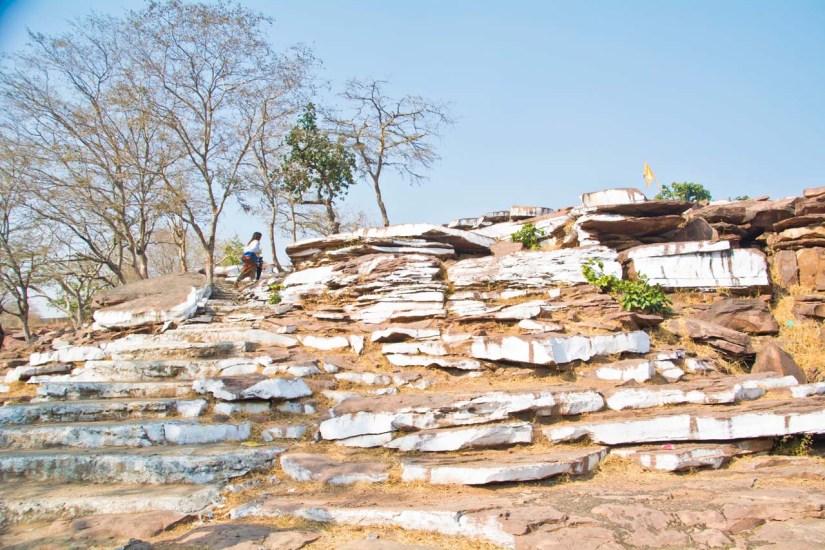 Garadia Mahadev temple steps