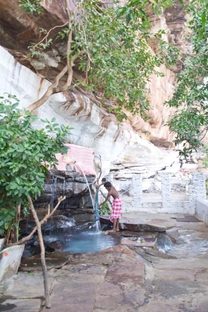 Garadia Mahadev temple outside area