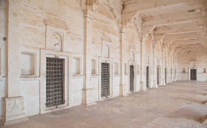 Inside of Taragarh Fort