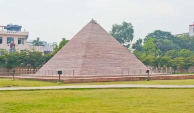 Great Pyramid at Seven wonder Park kota