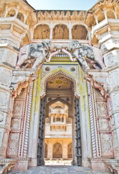 Taragarh Fort gate