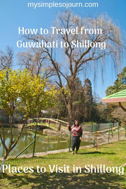 Travel from Guwahati to Shillong and Places to Visit in Shillong