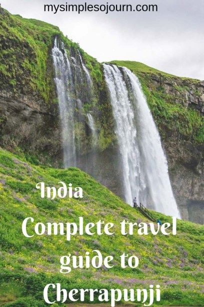 Cherrapunji sightseeing trip from Shillong