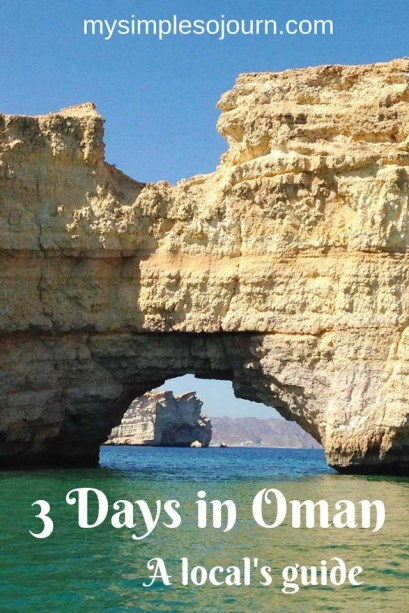 What to do in Oman in 3 days