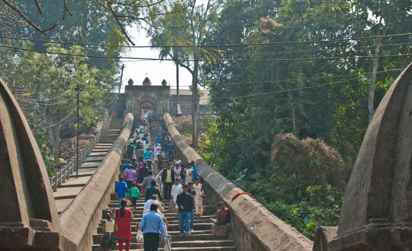 Hayagriva Madhava Temple stairs Hajo