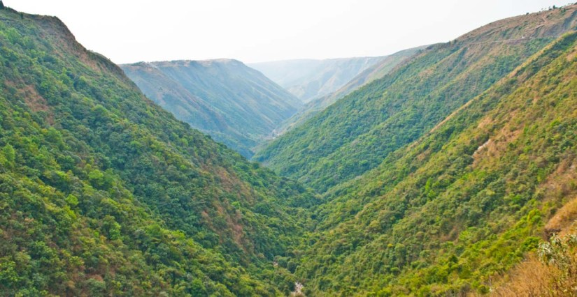On the way to Cherrapunji