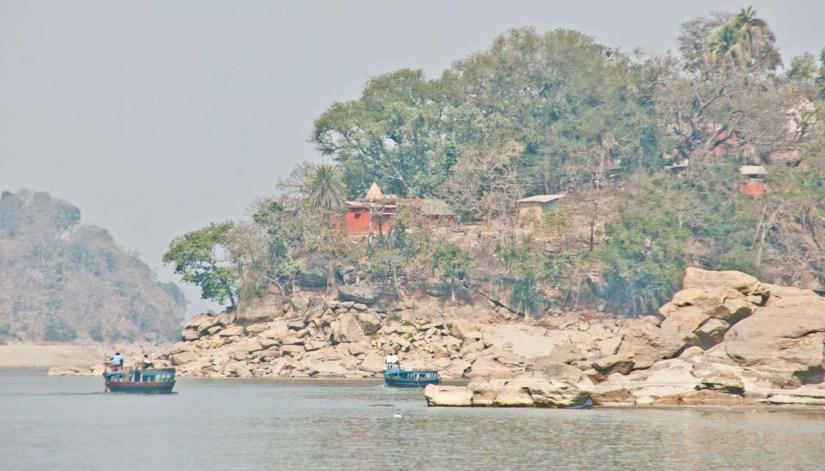 Umananda Temple in Bhramaputra Guwahati
