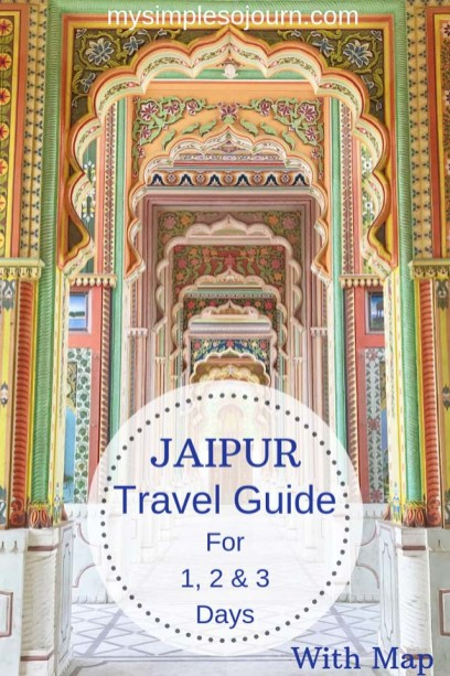 My trip to Jaipur itinerary - Places to visit in Jaipur in one day, 2 days & 3 days #india #rajasthan #jaipur #travelitinerary #travelguide #jaipurtrip #jaipurguide
