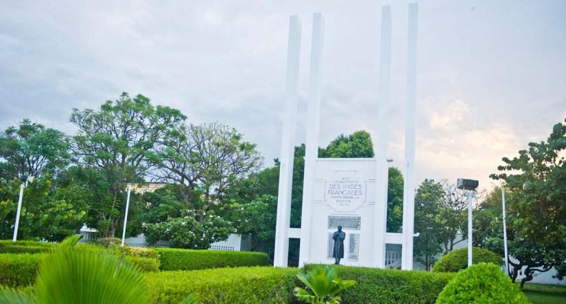 French War Memorial Pondicherry