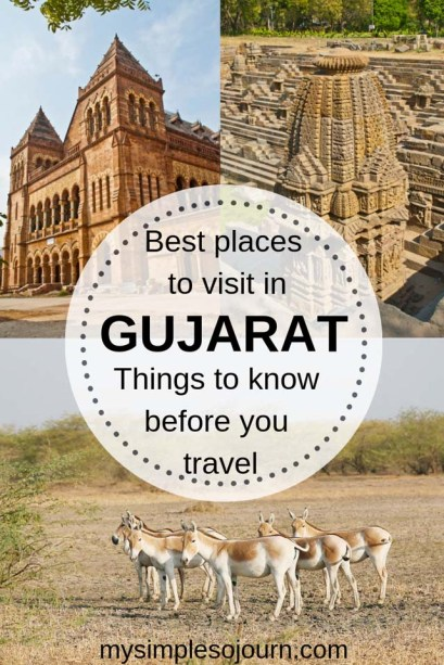 Best places to visit in Gujarat and other travel tips, Best time to travel to Gujarat, How to travel to Gujarat, Food in Gujarat #india #travel #traveltips #gujarattravel #gujarattravelguide