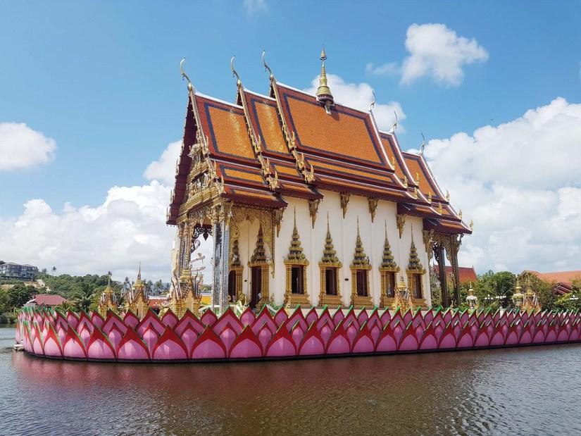 Wat Plai Laem in Ko Samui