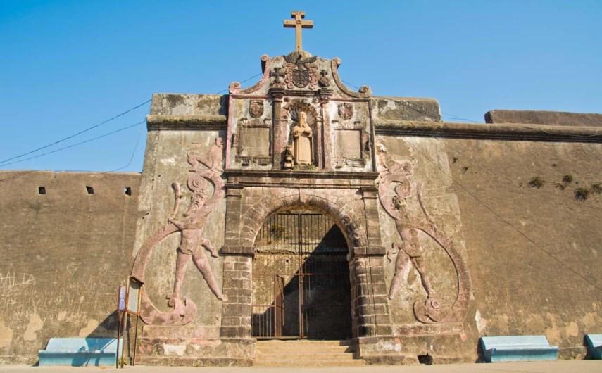 St Jerome fort gate, Daman