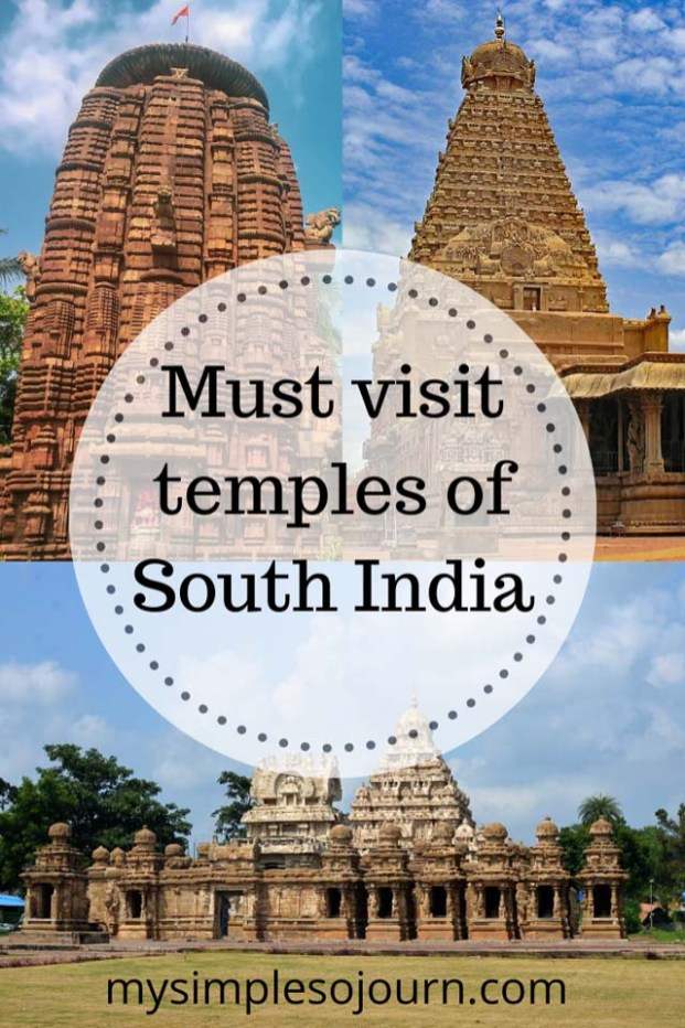 Must visit popular temples of South India #incredibleindia #southindia #southindiatemples #templesofsouthindia #religiousplaces