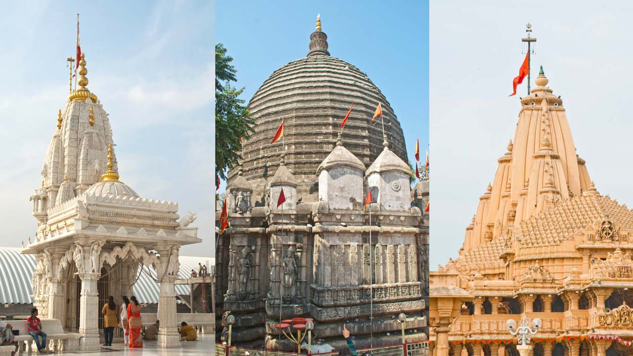 Popular temples of North, East and West India