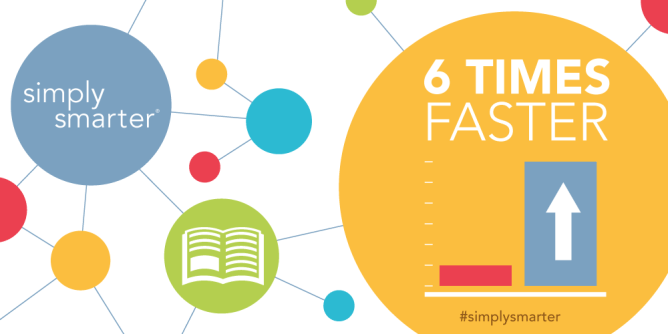 reading growth 6 times faster with Simply Smarter