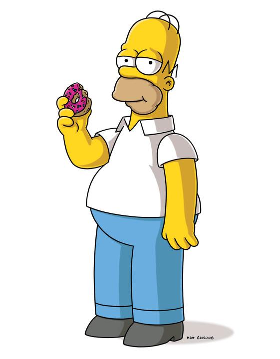 Гомер Симпсон из мультсериала Симпсоны