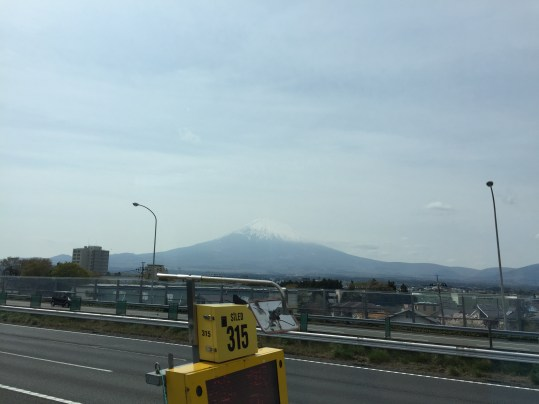 Roadtrip. Der erste Blick auf DEN Berg.