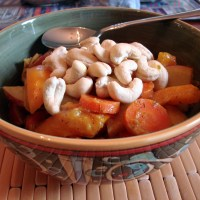 Cashew Carrot Curry