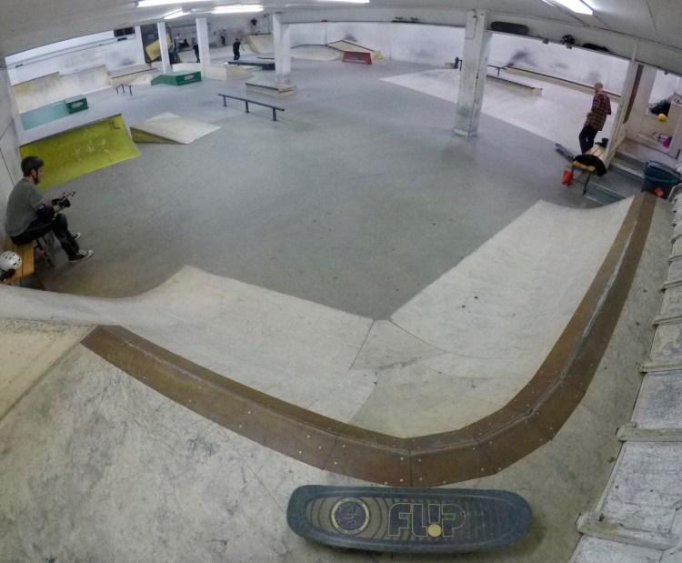 Fryshuset Skatepark Stockholm Skatehall