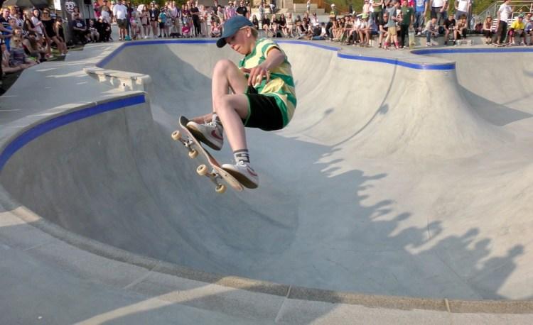 Värnamo Skatepark Åbroparken