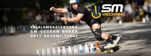 Slalomskateboard SM-Veckan 2017