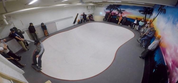 Varbergs skatepark bowl