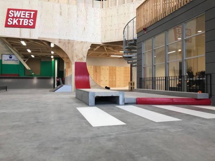 Junkpark Trollhättan Skatehall