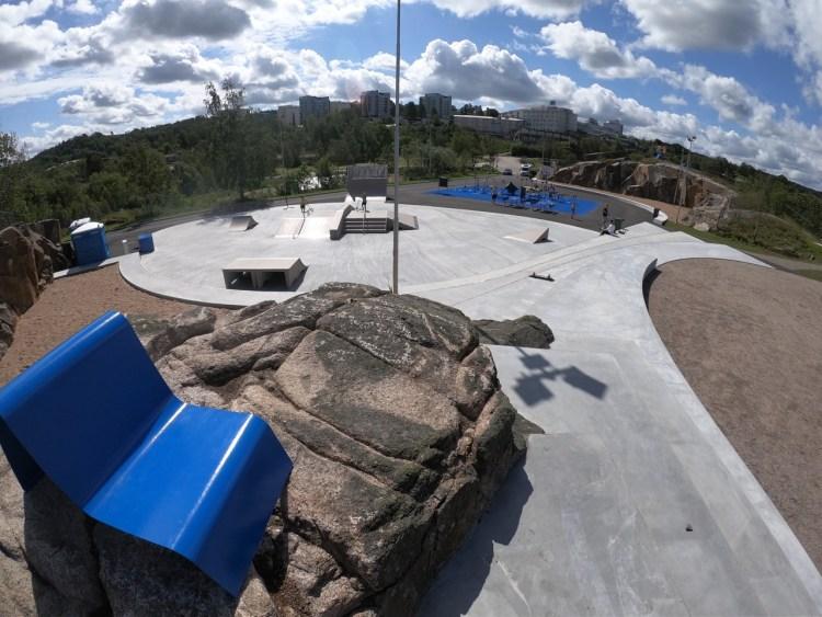 Uddevalla Skatepark Aktivitetspark Oljeberget