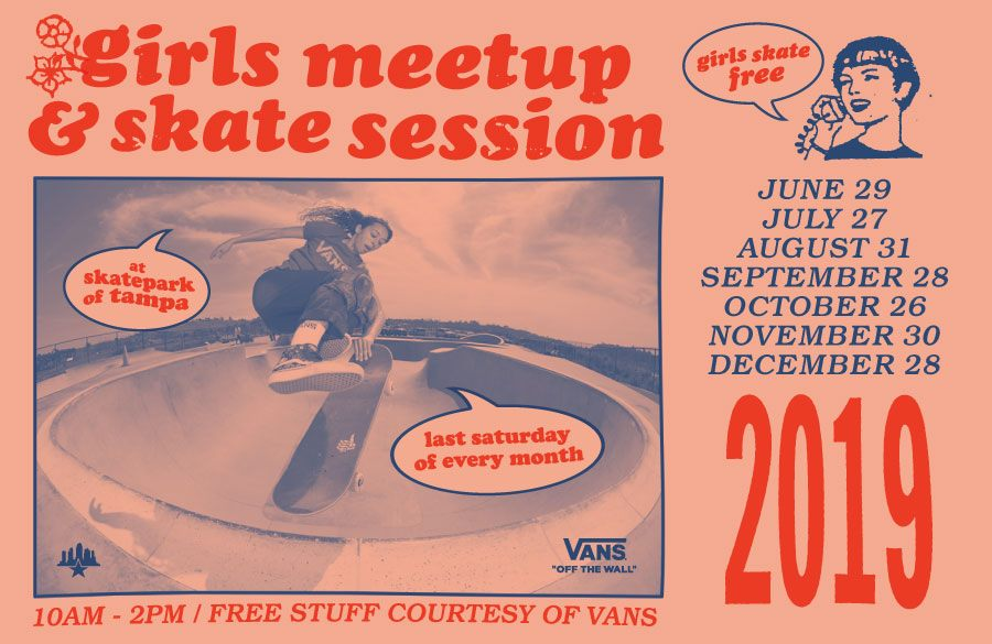Tampa skatepark girls-meetup
