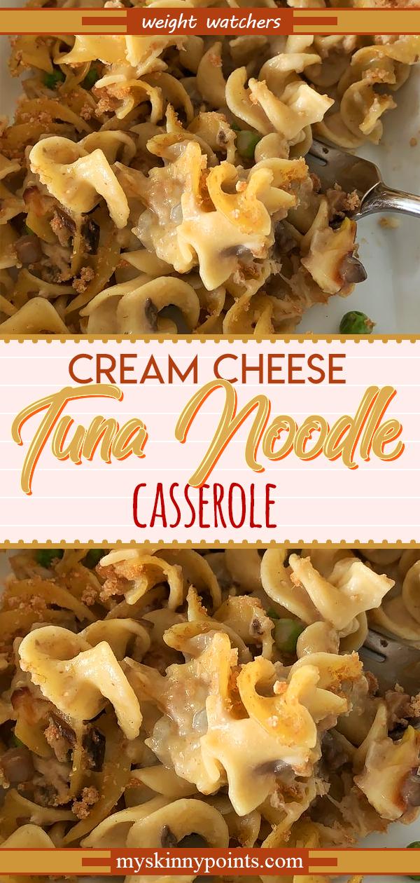 Cream Cheese Tuna Noodle Casserole Recipe