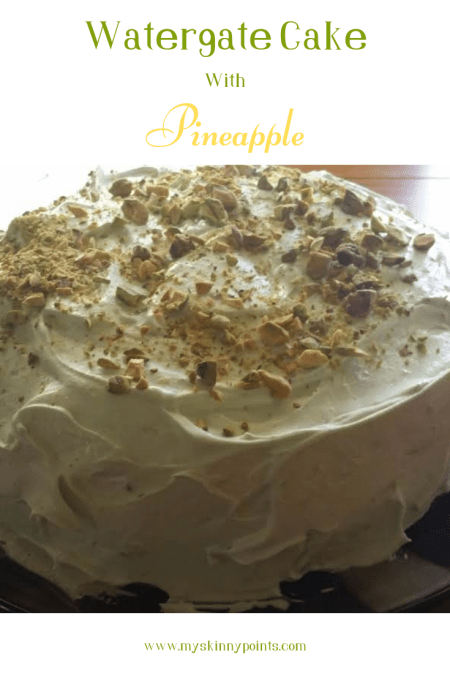 Watergate Cake With Pineapple