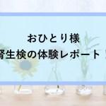 【体験談】おひとり様の腎生検入院ブログ|SLE・IgA腎炎検査治療