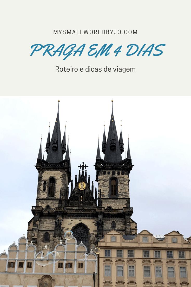 Roteiro Praga em 4 dias