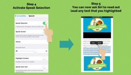 iPhone tips and tricks read text 2