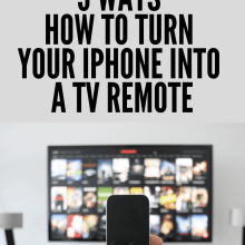 3 Ways How to Turn iPhone into TV Remote