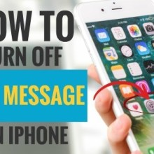 How to Turn Off Sent Message on iPhone