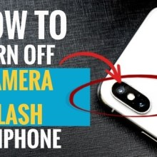 How to Turn Off Camera Flash on iPhone