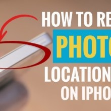 How to Remove Photos Location Data on iPhone