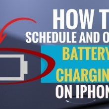 How to Schedule and Optimize Battery Charging on iPhone