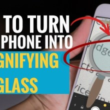 How to Turn Your iPhone into Magnifying Glass