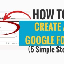 How to Create a Google Form