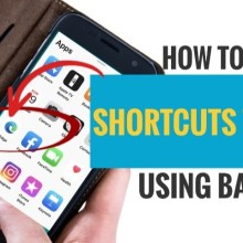 How to create shortcut to app using back tap