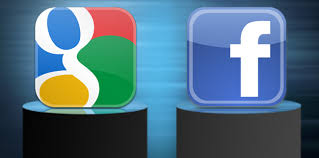 Facebook vs. Google+ by MySMN