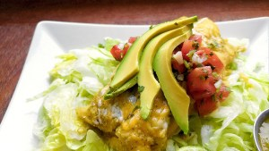 My mouth is watering just looking at this pic. I can't wait to try this recipe for drunken chicken enchiladas!