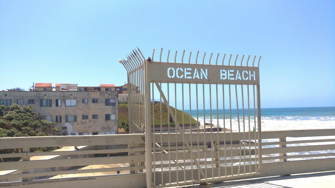 Historic Ocean Beach, California is home to an eclectic mix of people and buildings.