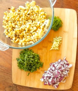 Mix it all together and what do you got? An AMAZING Grilled Corn Salsa recipe!