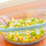 Summer Time Grilled Corn Salsa